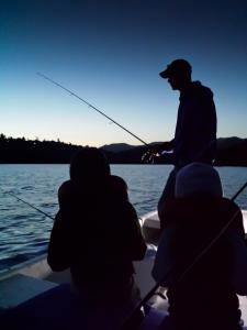 MariecorAgravante - Dad and Kids Night Catfishing, Lake Jennings